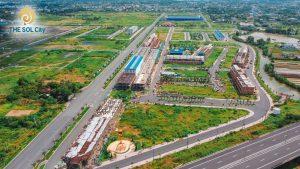 hình ảnh tiến độ hạ tầng the sol city chủ đầu tư tập đoàn thắng lợi